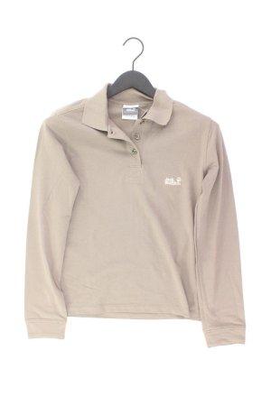 Jack Wolfskin Shirt Größe M braun aus Baumwolle