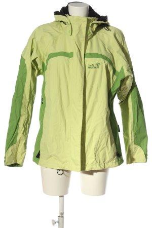 Jack Wolfskin Softshell Jacket green athletic style