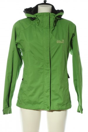 Jack Wolfskin Chaqueta softshell verde look casual