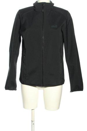 Jack Wolfskin Softshell Jacket black casual look