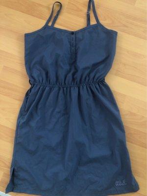 Jack Wolfskin Pinafore dress slate-gray