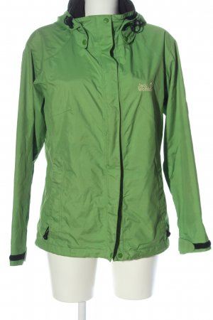 Jack Wolfskin Sports Jacket green-gold-colored flecked casual look