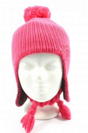Jack Wolfskin Knitted Hat pink casual look