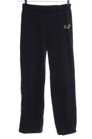 Jack Wolfskin Pantalon de jogging noir style athlétique