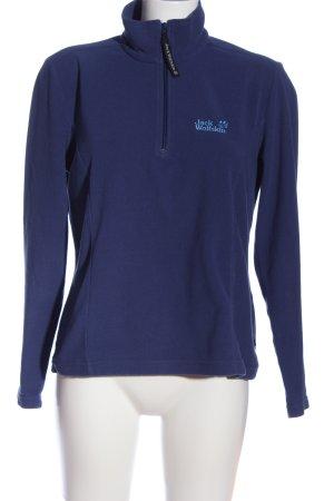 Jack Wolfskin Sweatshirt lila Casual-Look