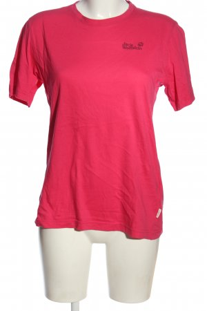 Jack Wolfskin Camiseta rosa look casual