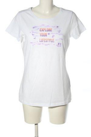 Jack Wolfskin T-Shirt Schriftzug gedruckt Casual-Look