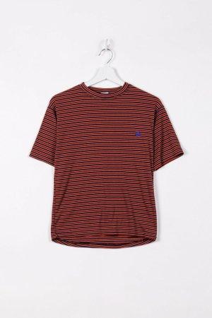 Jack Wolfskin Sports Shirt brown-blue cotton