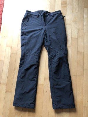 Jack Wolfskin Thermal Trousers black viscose