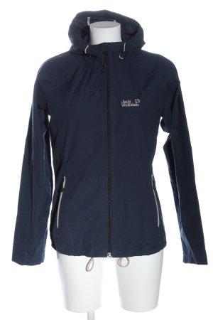Jack Wolfskin Between-Seasons Jacket blue casual look