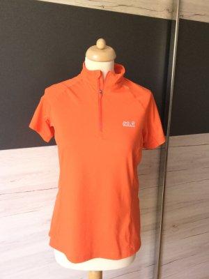 Jack Wolfskin Maglietta sport arancio neon