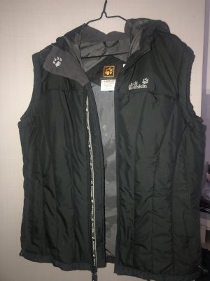 Jack Wolfskin Hooded Vest black