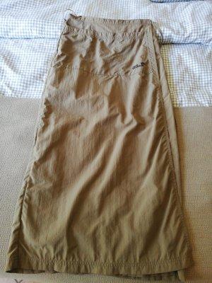 Jack Wolfskin Wraparound Skirt grey brown-olive green
