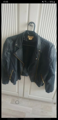 H&M Waxed Jacket black