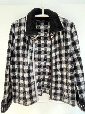 marccain sport Wool Jacket white-black