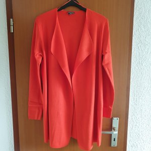 Street One Long Jacket red viscose