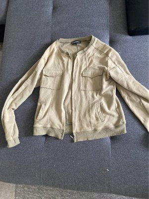 Shirtjack groen-grijs