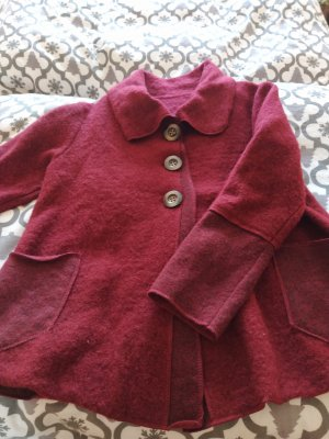 Wool Jacket blackberry-red