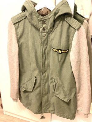College Jacket light grey-green grey