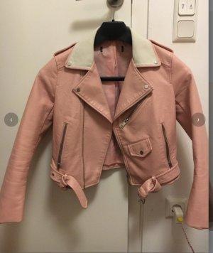 Bershka Chaqueta de aviador rosa