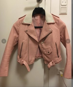 Bershka Flight Jacket pink