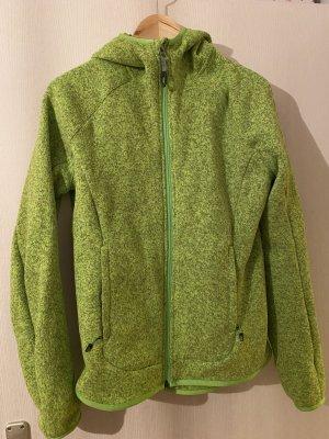 Adidas Kurtka polarowa zielona łąka