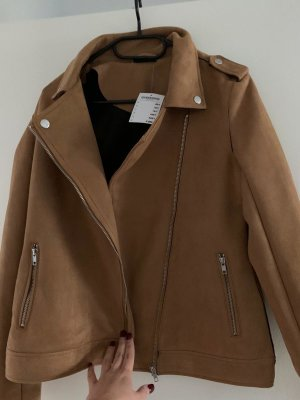 Janina Biker Jacket brown