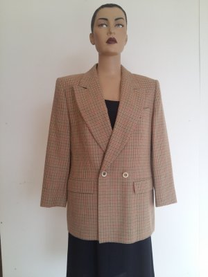 Gerry Weber Blazer in lana marrone-grigio