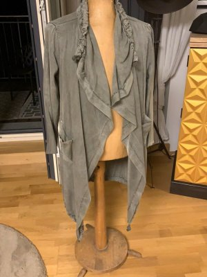 0039 Italy Veste chemise taupe