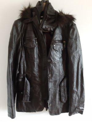 Oversized Jacket dark brown