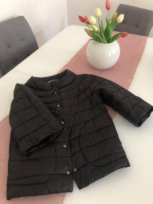King Kong Kurtka przejściowa czarny Tkanina z mieszanych włókien