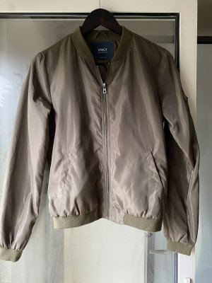 Only Giacca bomber grigio-verde