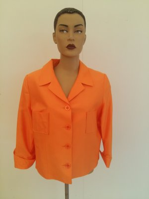 Clément Short Jacket orange silk