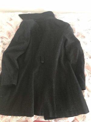 Abrigo de piloto gris oscuro
