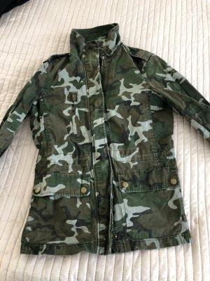 Giacca militare grigio-verde-cachi