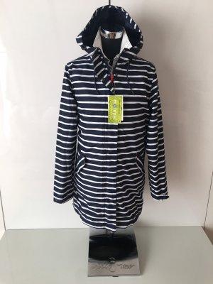 TCM Double Jacket dark blue-white