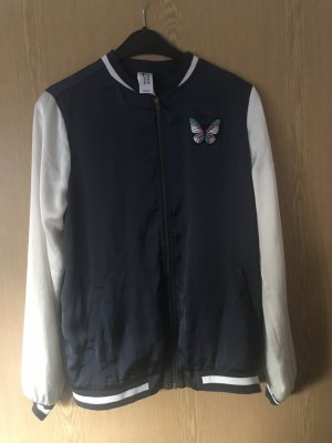 C&A College jack donkerblauw-wit