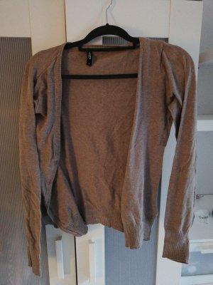 Colours of the World Veste chemise gris brun