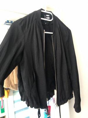 H&M Bomberjack zwart