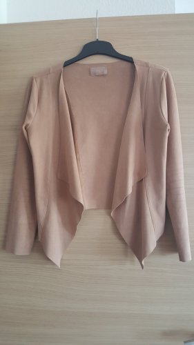 Cartoon Short Jacket camel