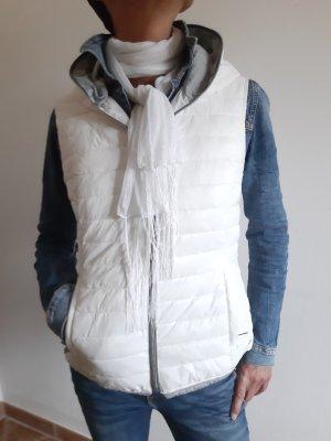 Rino & Pelle Giacca con cappuccio bianco