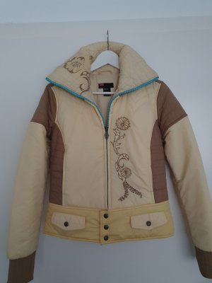 Diesel Quilted Jacket sand brown