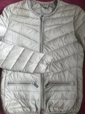 Amisu Short Jacket light grey polyester