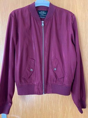 Bershka College Jacket purple