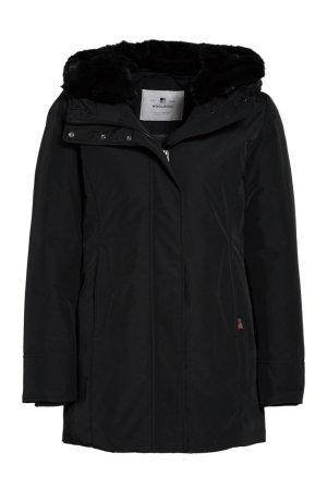 Woolrich Donsjack zwart Polyester