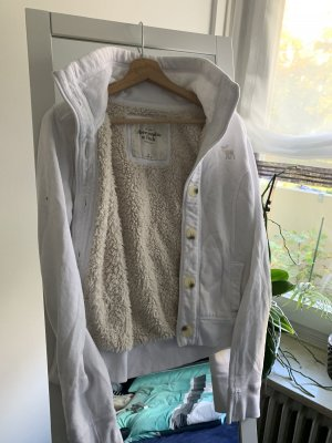 Abercrombie & Fitch Shirt Jacket white