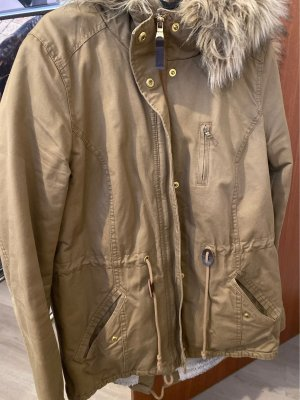 H&M Divided Parka bronze-colored