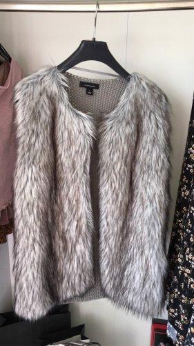 Primark Fur Jacket grey