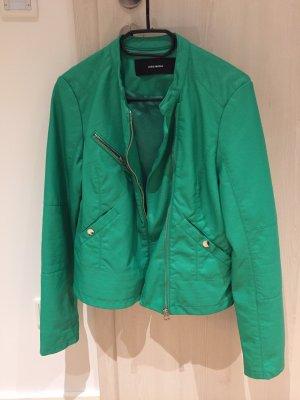Vero Moda Faux Leather Jacket mint