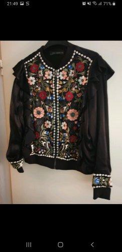 Zara Chaqueta softshell negro